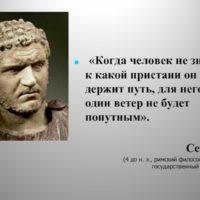 Цитаты римского философа Сенеки (400 цитат)